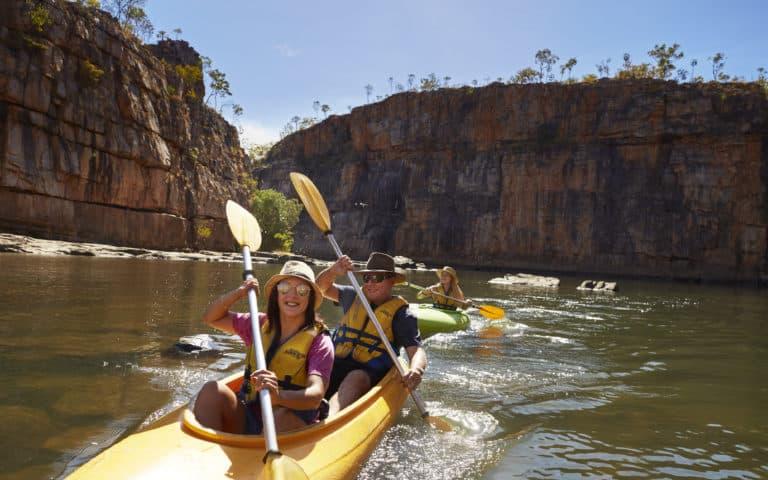 Nitmiluk Canoeing